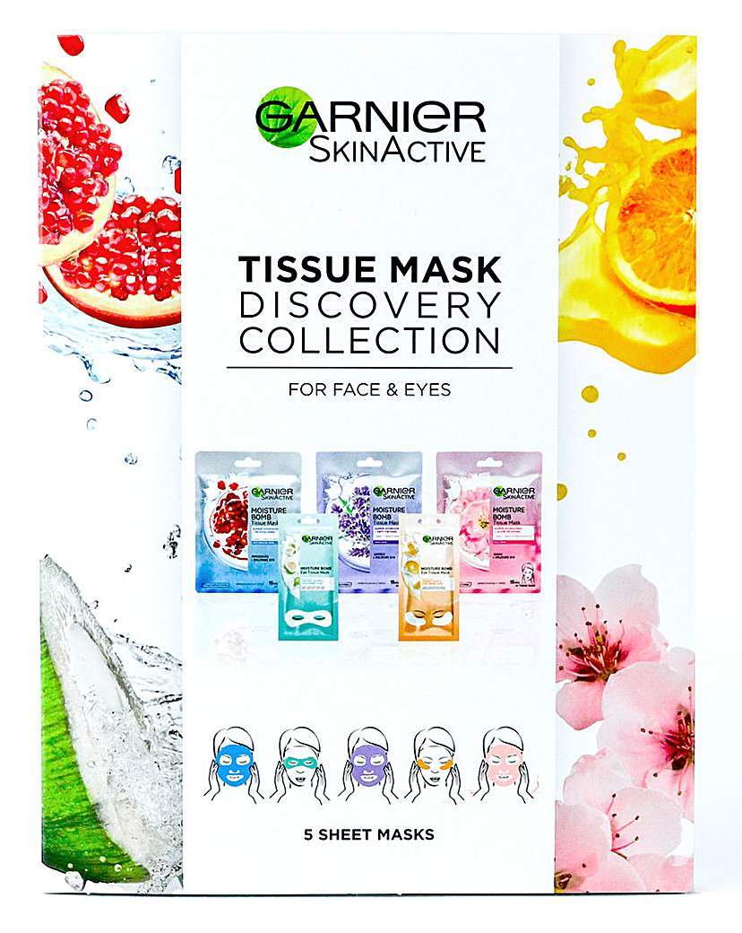 Garnier Garnier Tissue Mask Discovery Collection