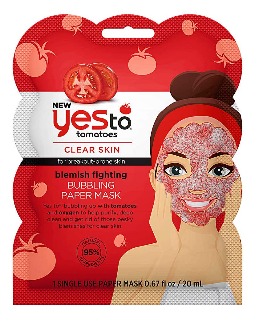 Yes To Yes To Tomatoes Blemish Bubble Mask