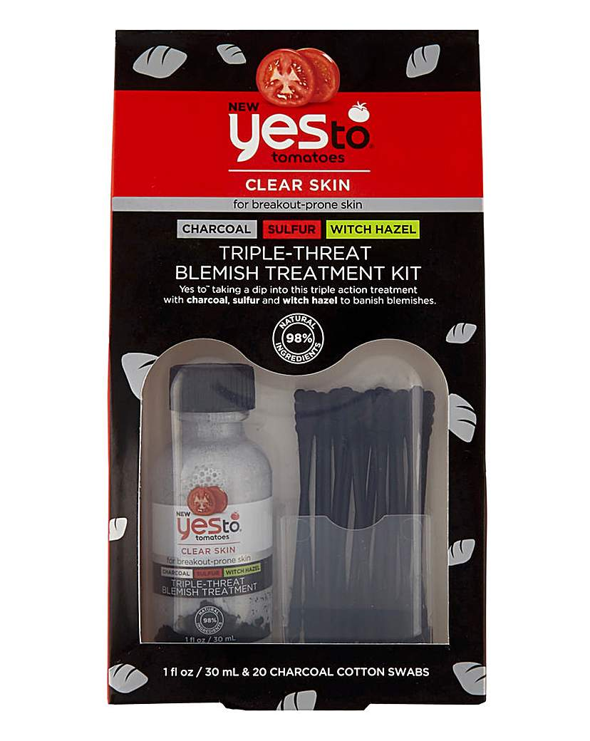 Yes To Yes To Tomatoes Blemish Treatment Kit