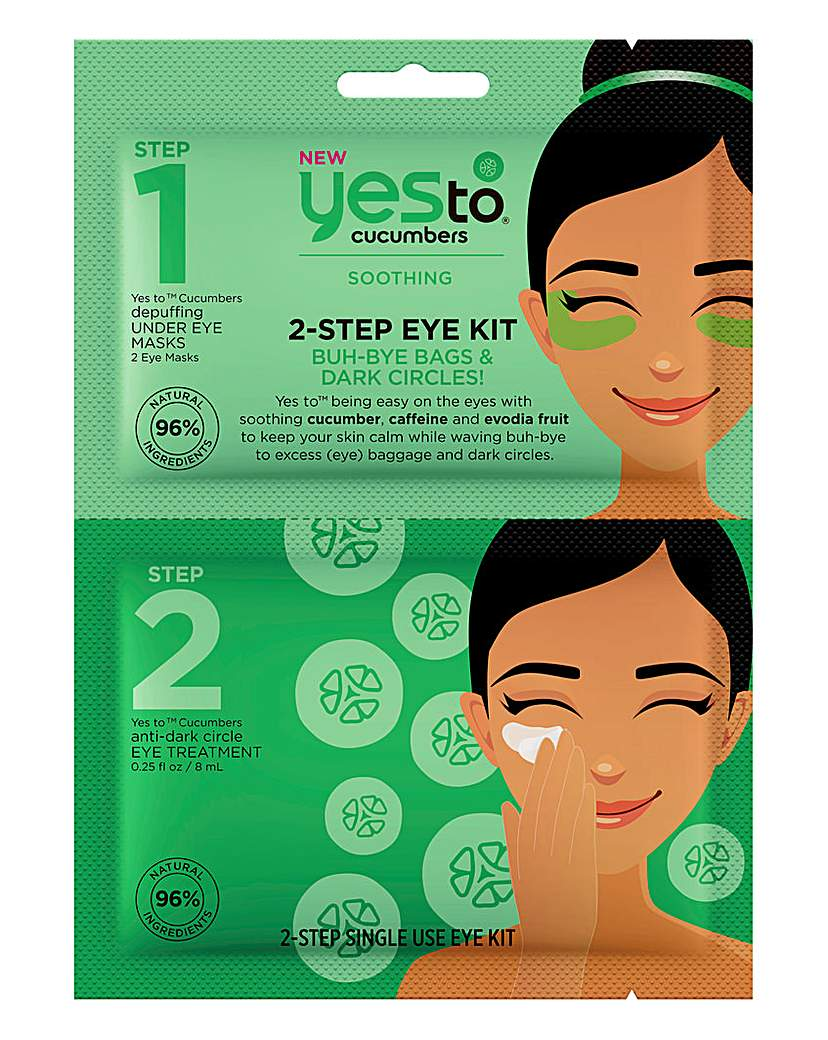 Yes To Yes To Cucumbers 2-Step Eye Kit