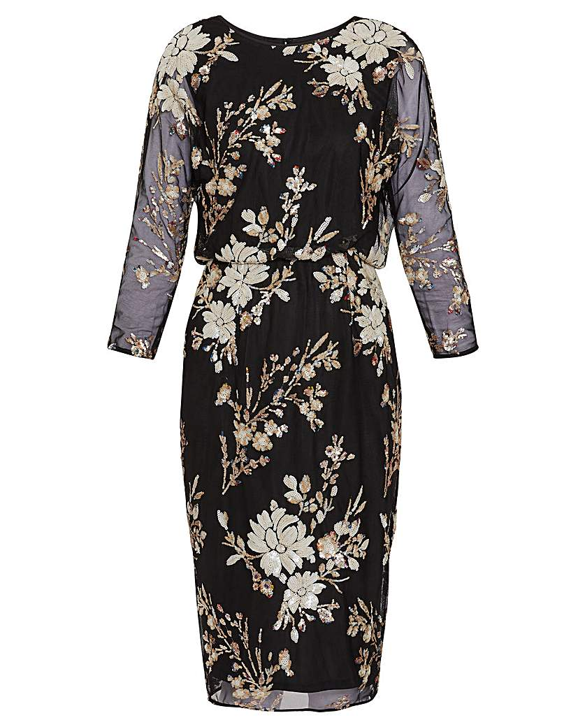 Gina Bacconi Kerra Sequin Dress