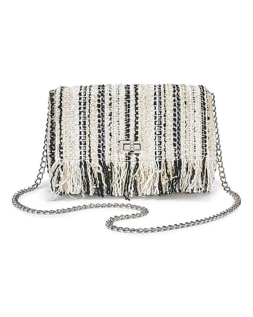Capsule Tweed Shoulder Bag