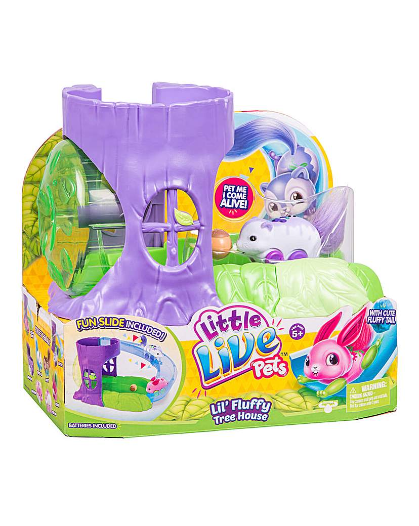 Image of Little Live Pets Fluffy Friends Playset