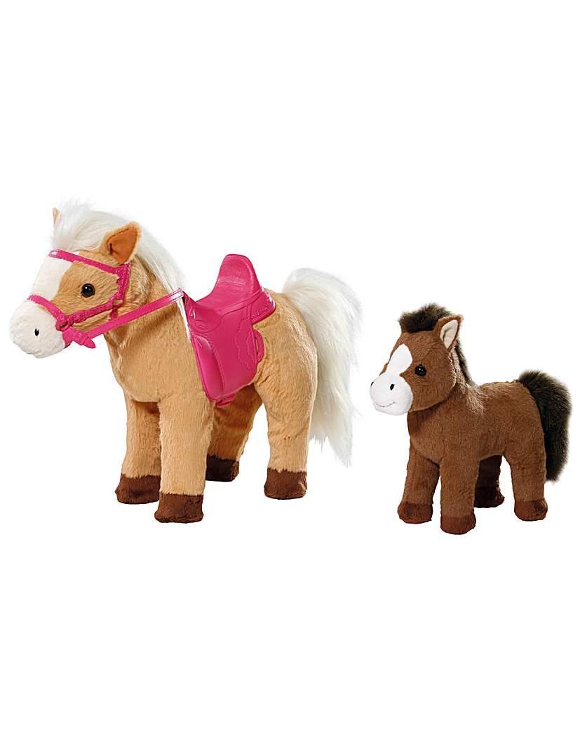 Baby Born Pony Farm Sunny And Baby