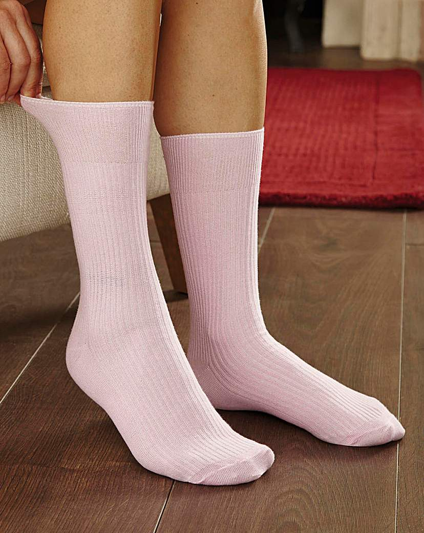 Comfy Hold Socks Pack of 6 - Ladies