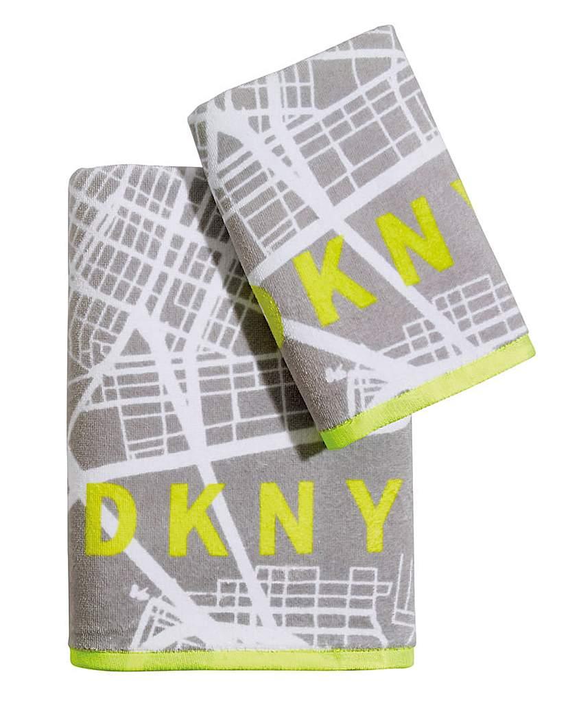 DKNY DKNY City Map Towel