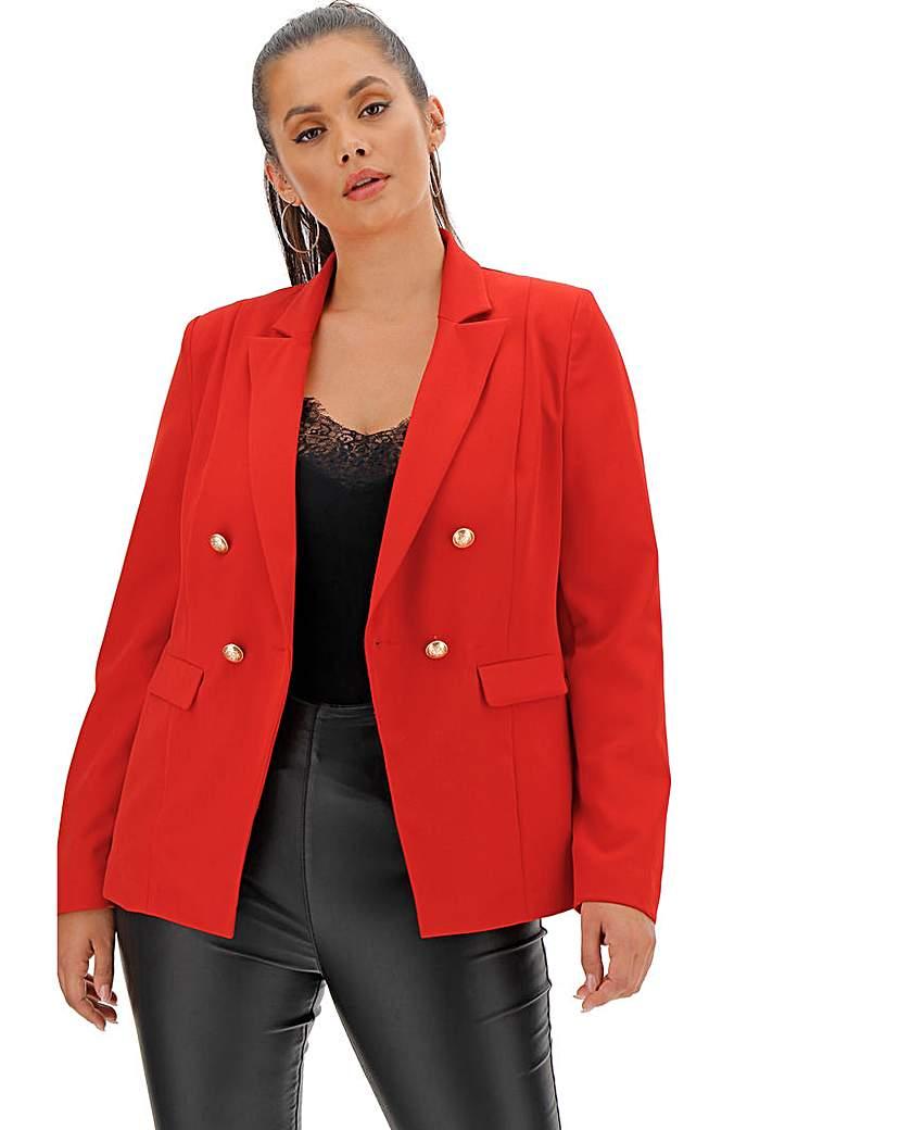 Capsule Premium Stretch Red Trophy Blazer