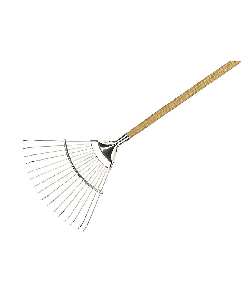 Image of Ss Long Handled Lawn / Leaf Rake