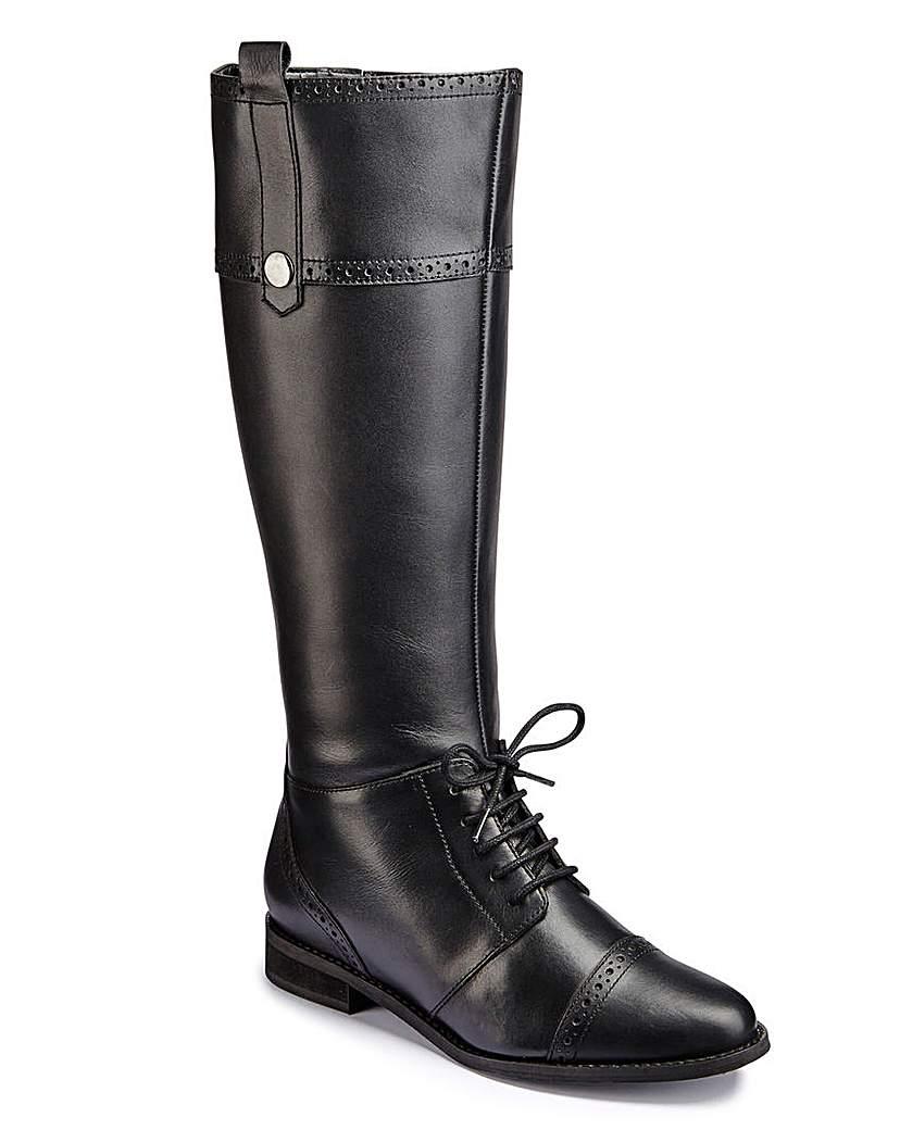 Catwalk Brogue Boot Super Curvy EEE Fit