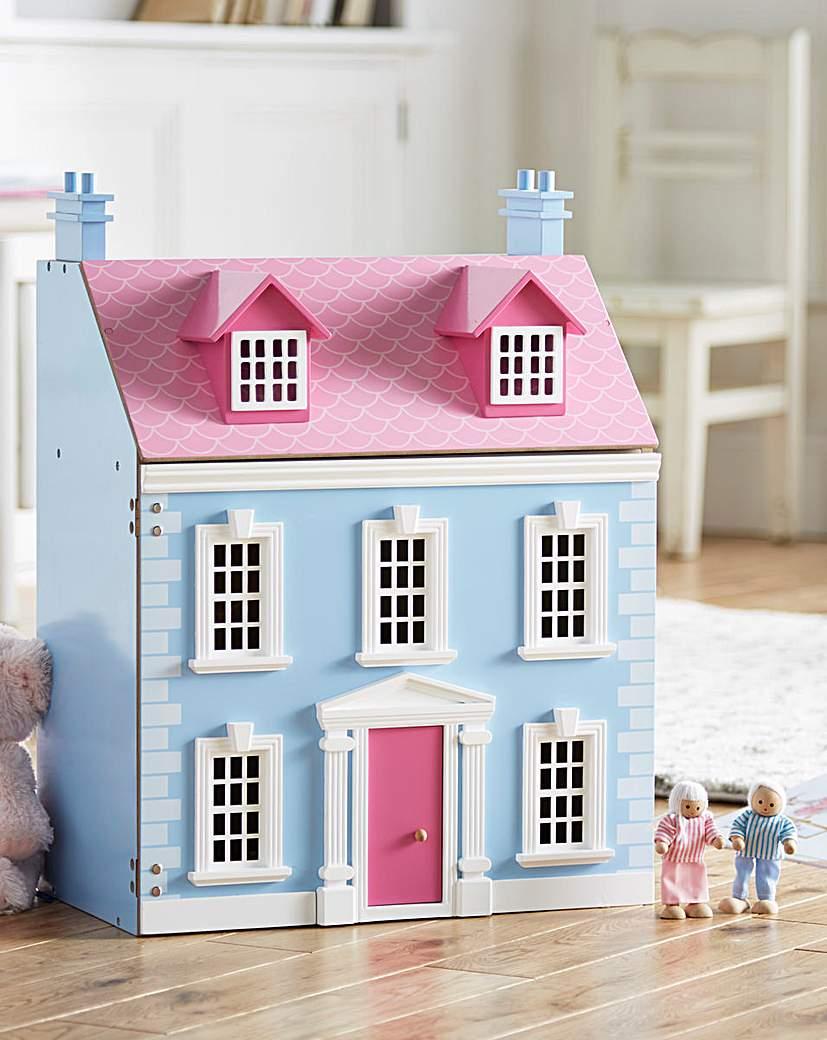 Image of Wooden Georgian Dolls House