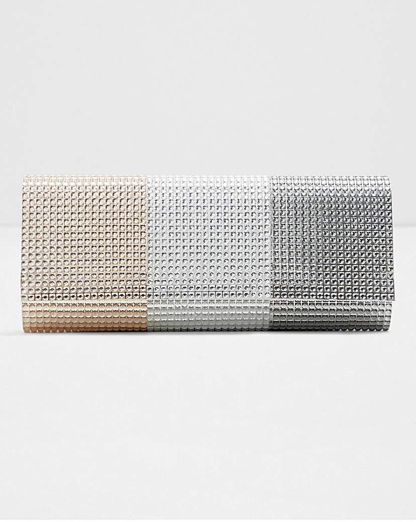 Aldo Aseriri Multi Colour Gem Clutch Bag