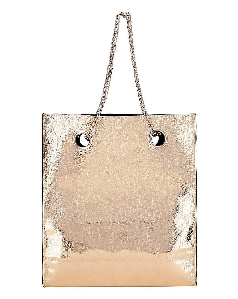 24687387925 Glamorous Chain Detail Shoulder Bag