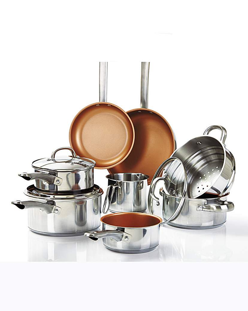 Image of 8 Piece Stainless Steel Cookware Set