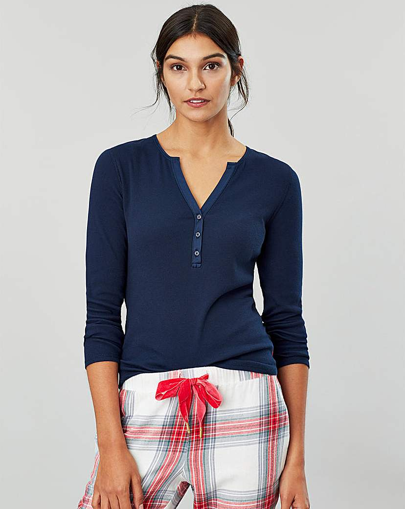 Joules Cici Ribbed Jersey Top
