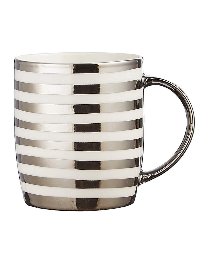 Image of 4 Piece Metallic Mugs