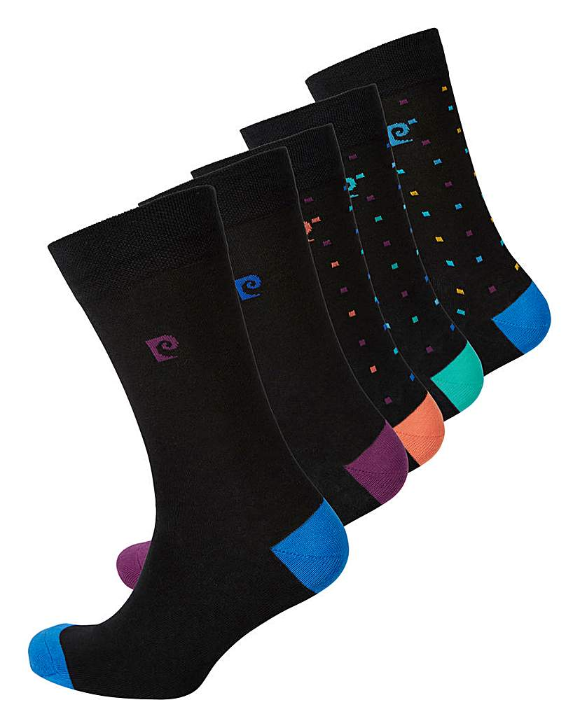 21834719081 Pierre Cardin Pack of 5 Design Socks