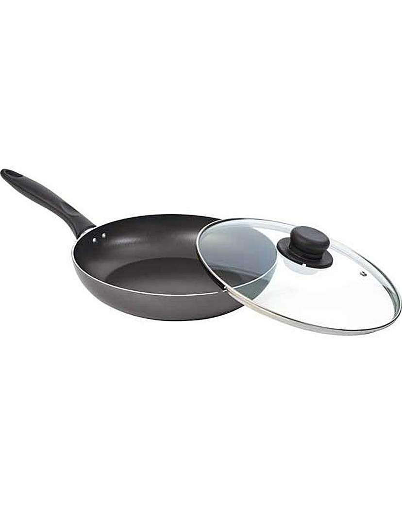 Image of 26cm Non-Stick Saute Pan with Lid