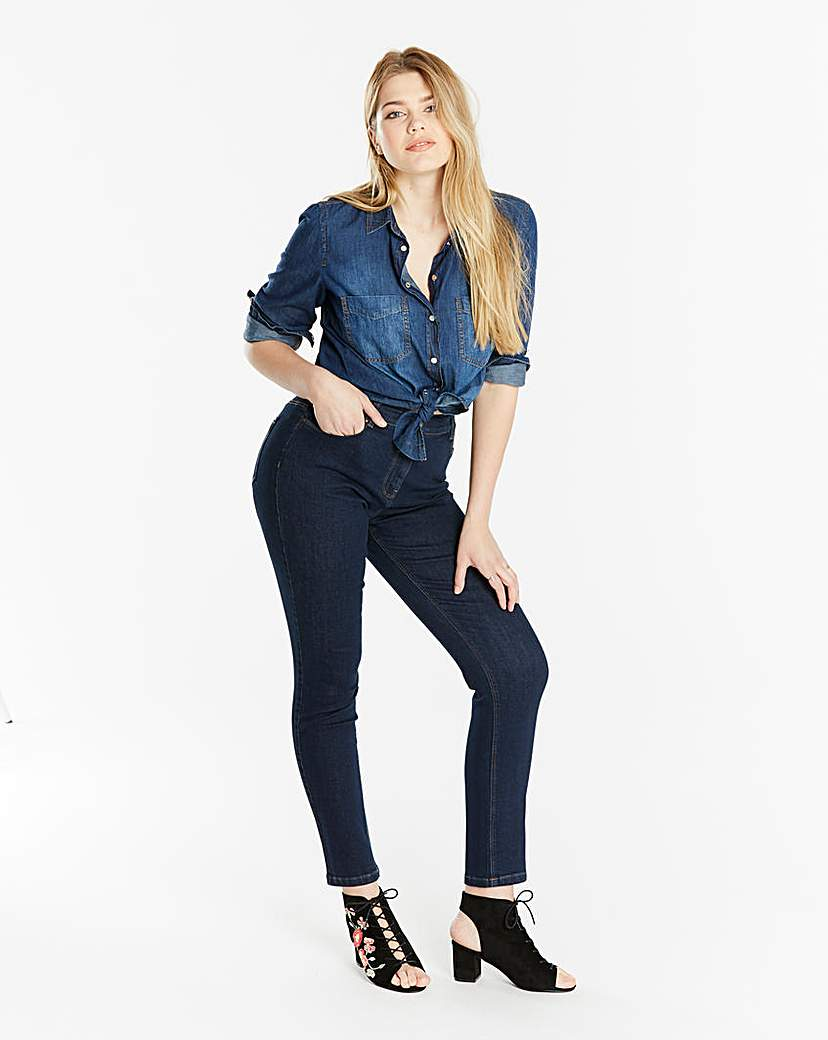 Capsule Petite Indigo Everyday Slim Leg Jeans