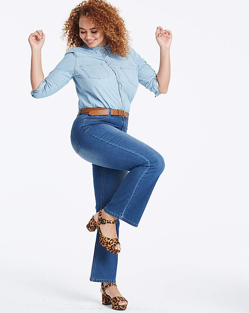 Capsule Blue Everyday Bootcut Jeans
