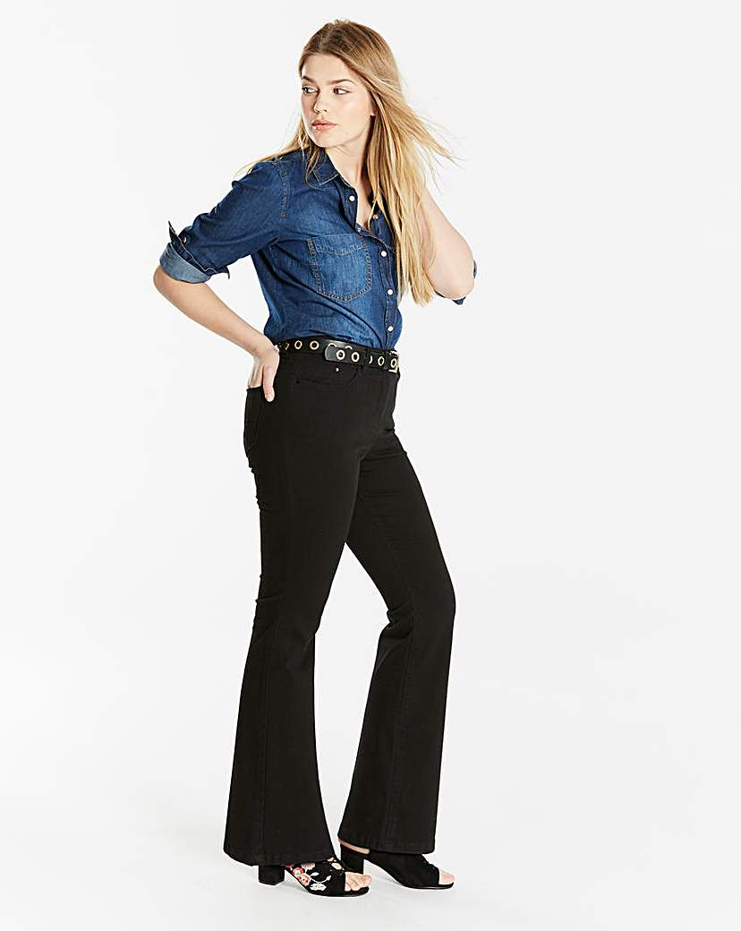 Simply Be Bootcut Jeans