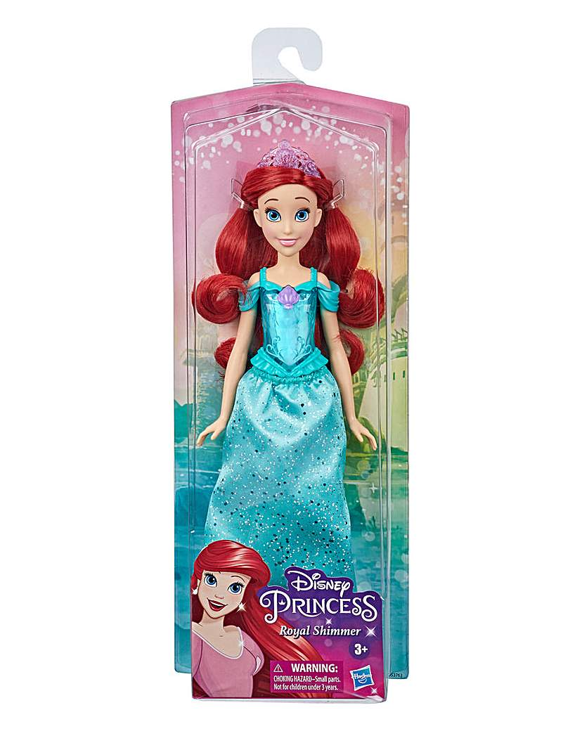 disney princess shimmer doll - ariel