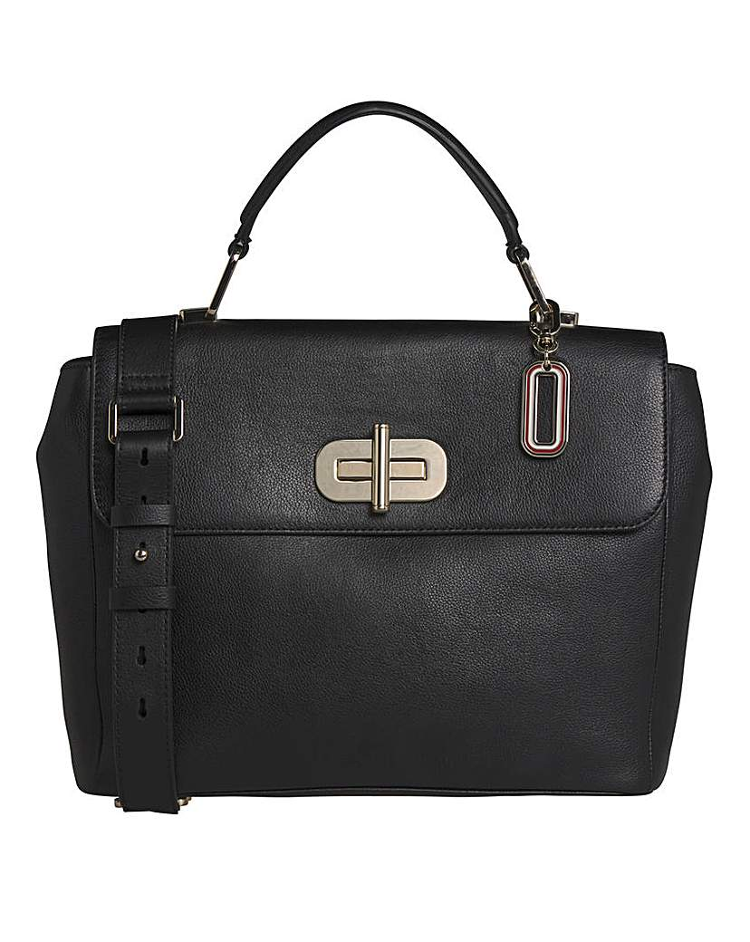 25134875885 Tommy Hilfiger Elevated Leather Satchel