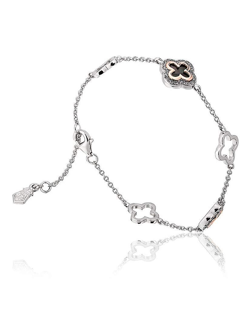 Clogau Silver Tudor Court Bracelet