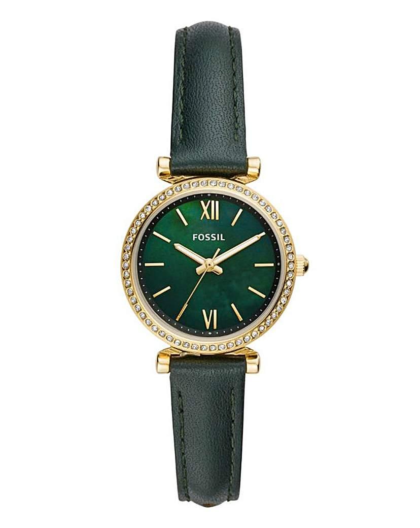 Fossil Ladies Green Strap Watch