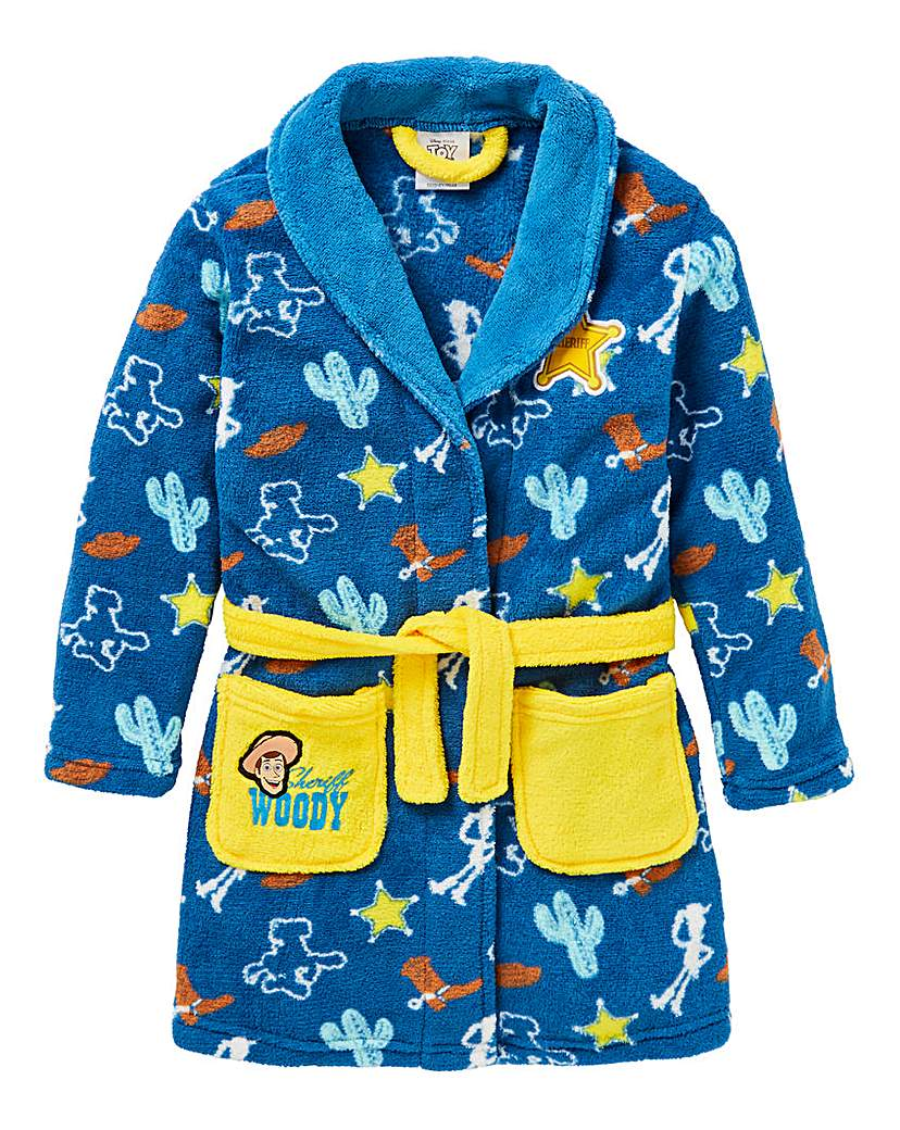 Toy Story Woody Boys Dressing Gown