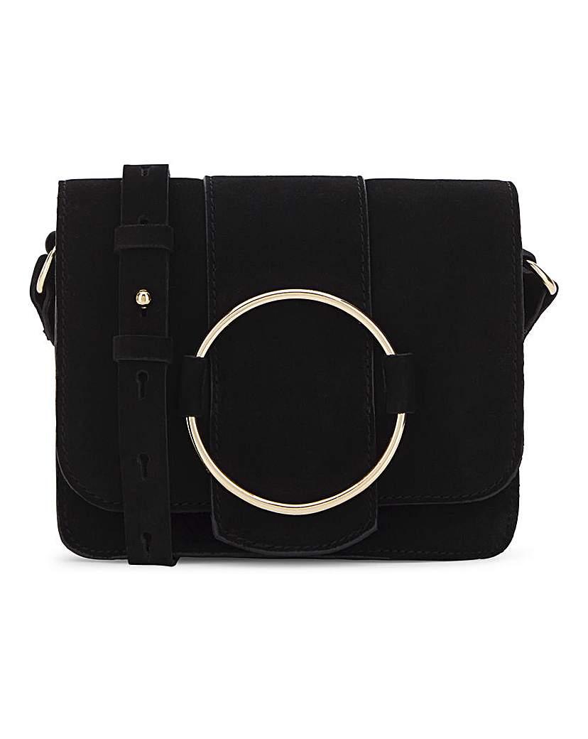 25651345701 Oasis Ring Detail Shoulder Bag