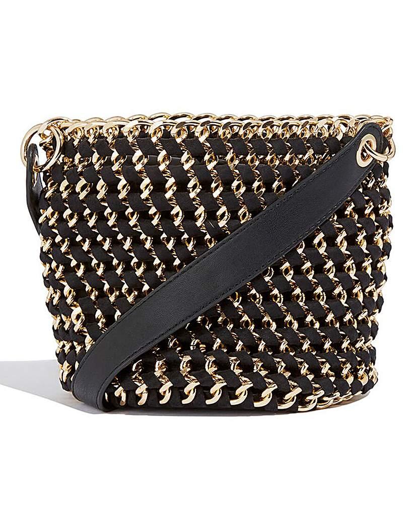 25420100785 Oasis Chain Bucket Bag