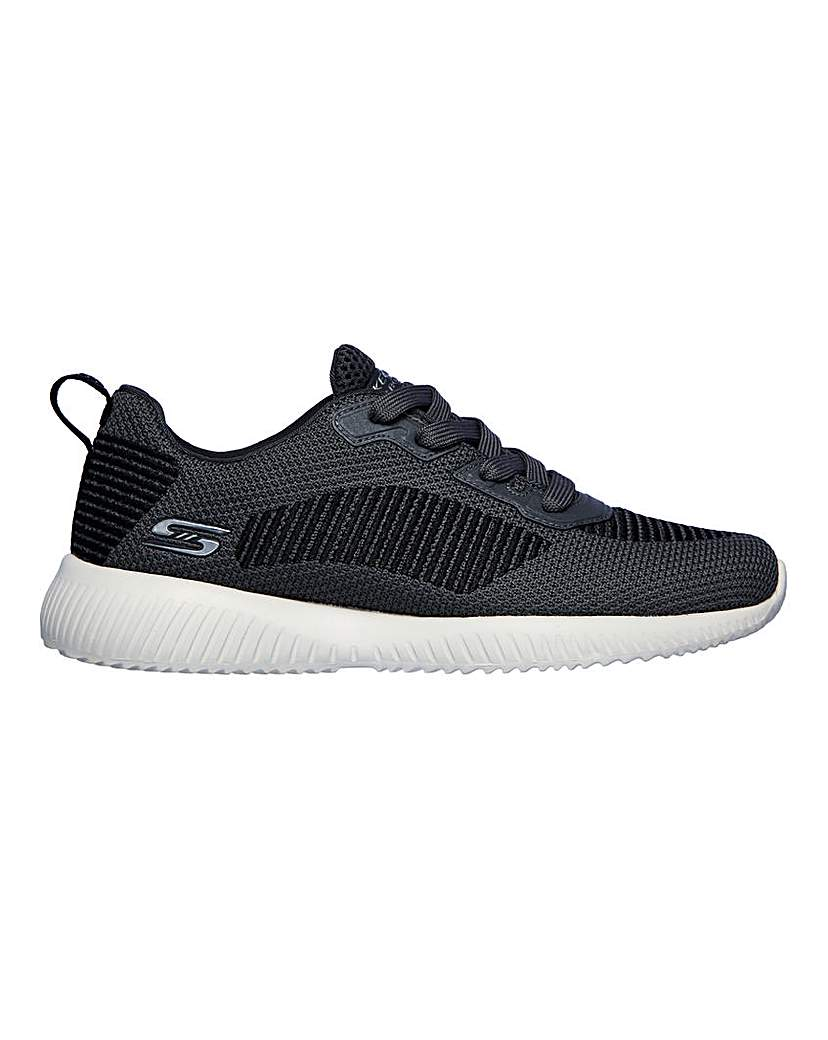 Skechers Bobs Squad Turn Up Trainers