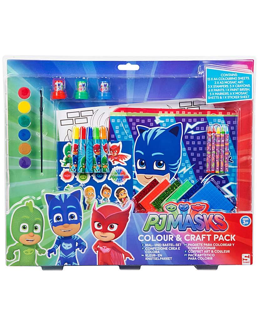 Image of PJ Masks Colour & Craft Multi Pack