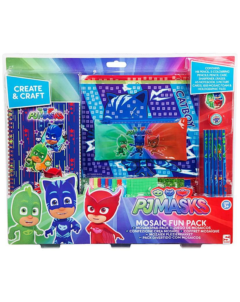 Image of PJ Masks Mosaic Fun Pack