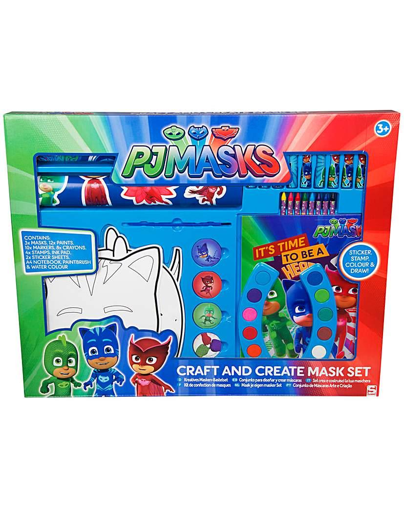 Image of PJ Masks Craft & Create Mask Set