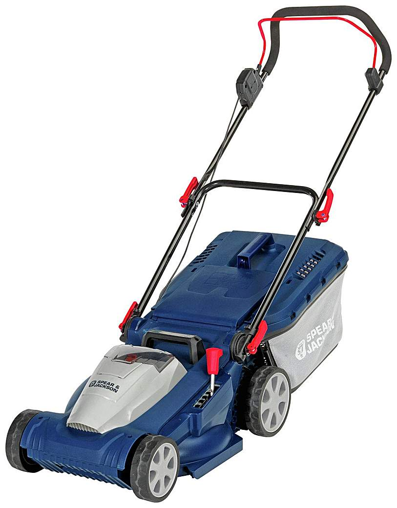 Image of 37cm Cordless Rotary Lawnmower - 40V