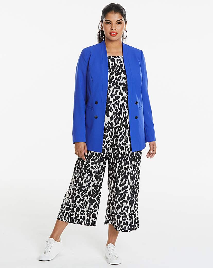 JD Williams Edge To Edge Cobalt Fashion Blazer