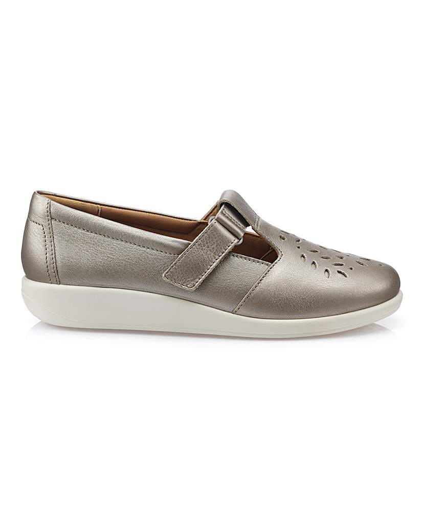 hotter sunset wide fit ladies shoe