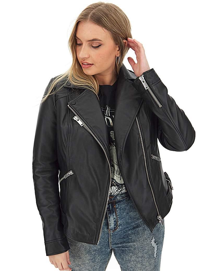 Capsule Leather Biker Jacket