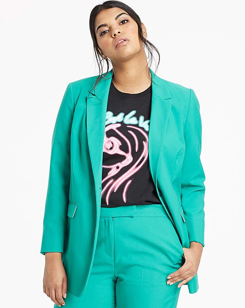 Capsule Mix and Match Green Fashion Blazer
