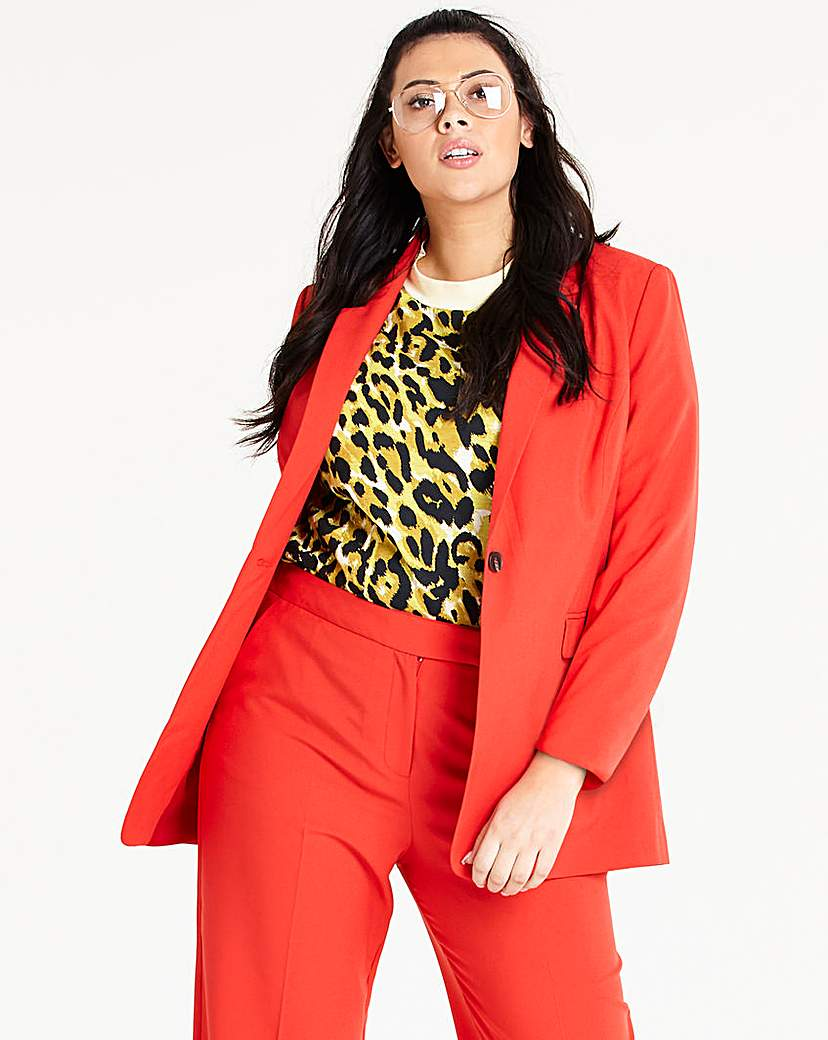 Capsule Mix and Match Red Fashion Blazer