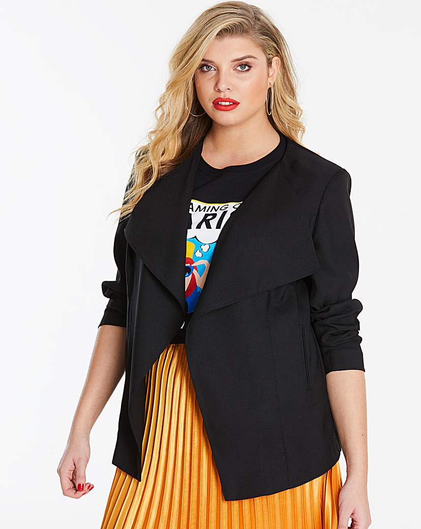Capsule Black Waterfall Jacket