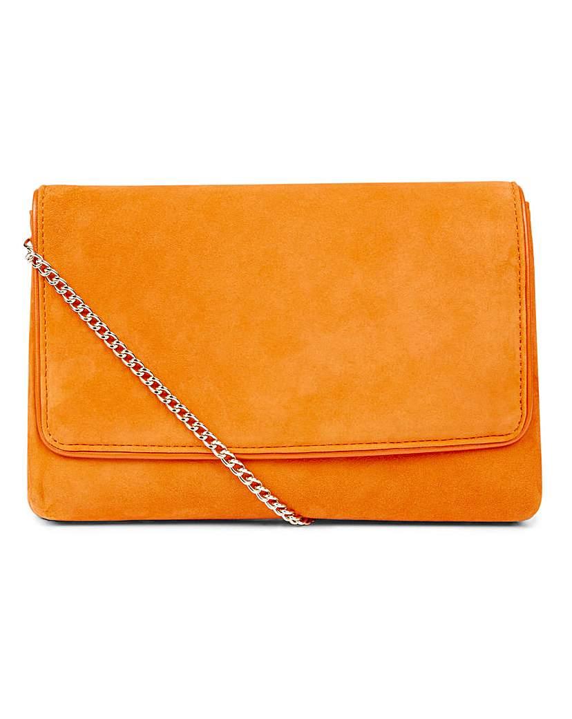 24983213561 Hobbs Warwickshire Orange Clutch