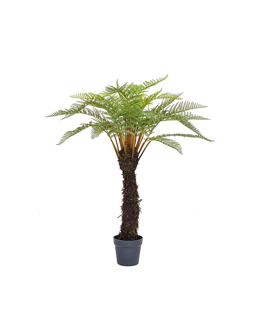 Image of Artificial Tree Fern in Pot