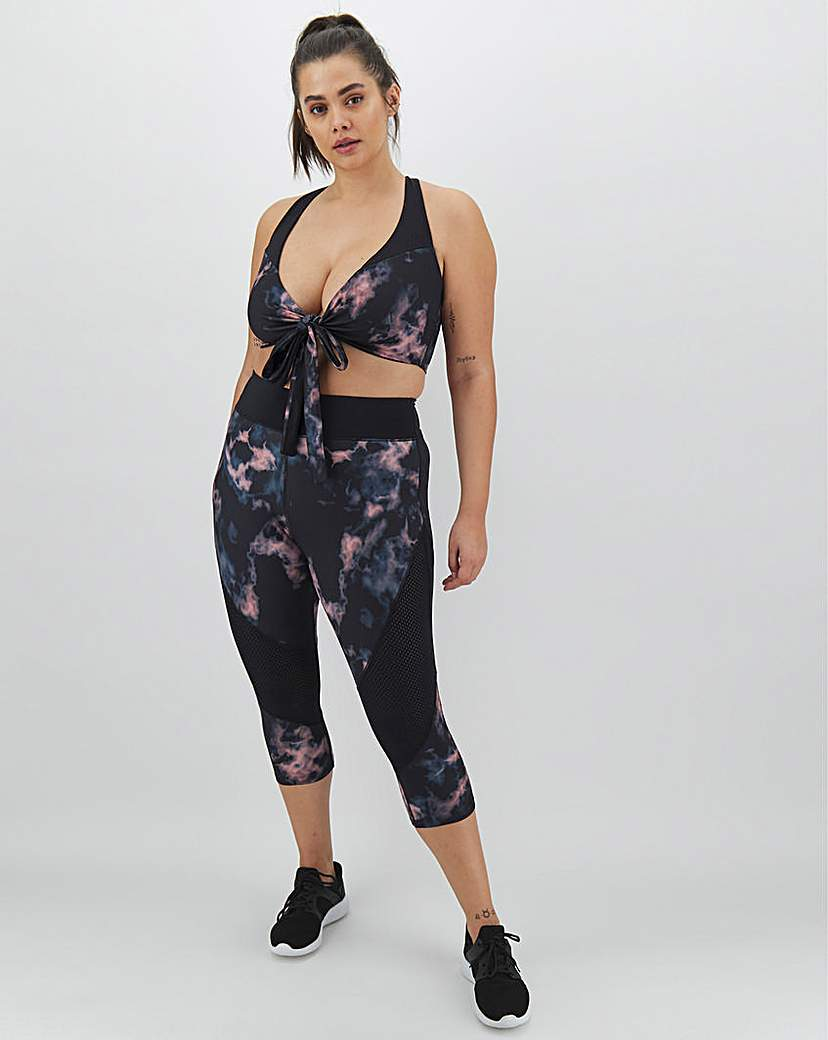 Wolf & Whistle Wolf and Whistle Print Panel Legging
