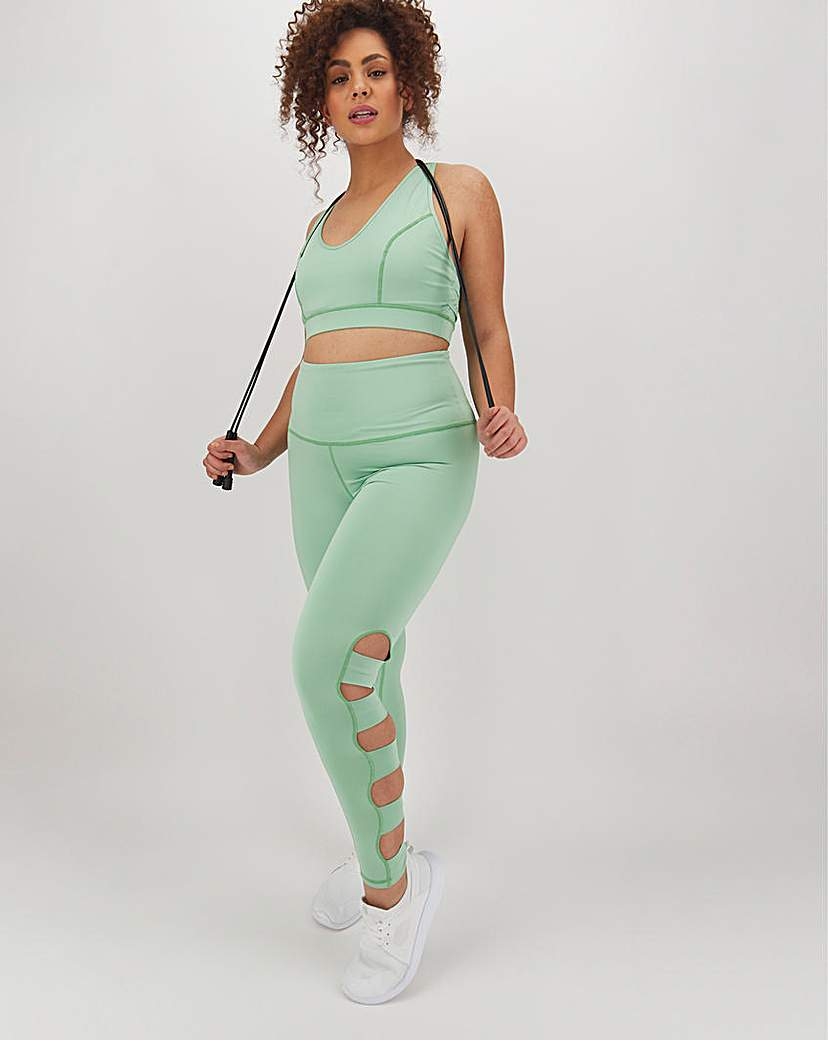 Wolf & Whistle Wolf and Whistle Strappy Legging