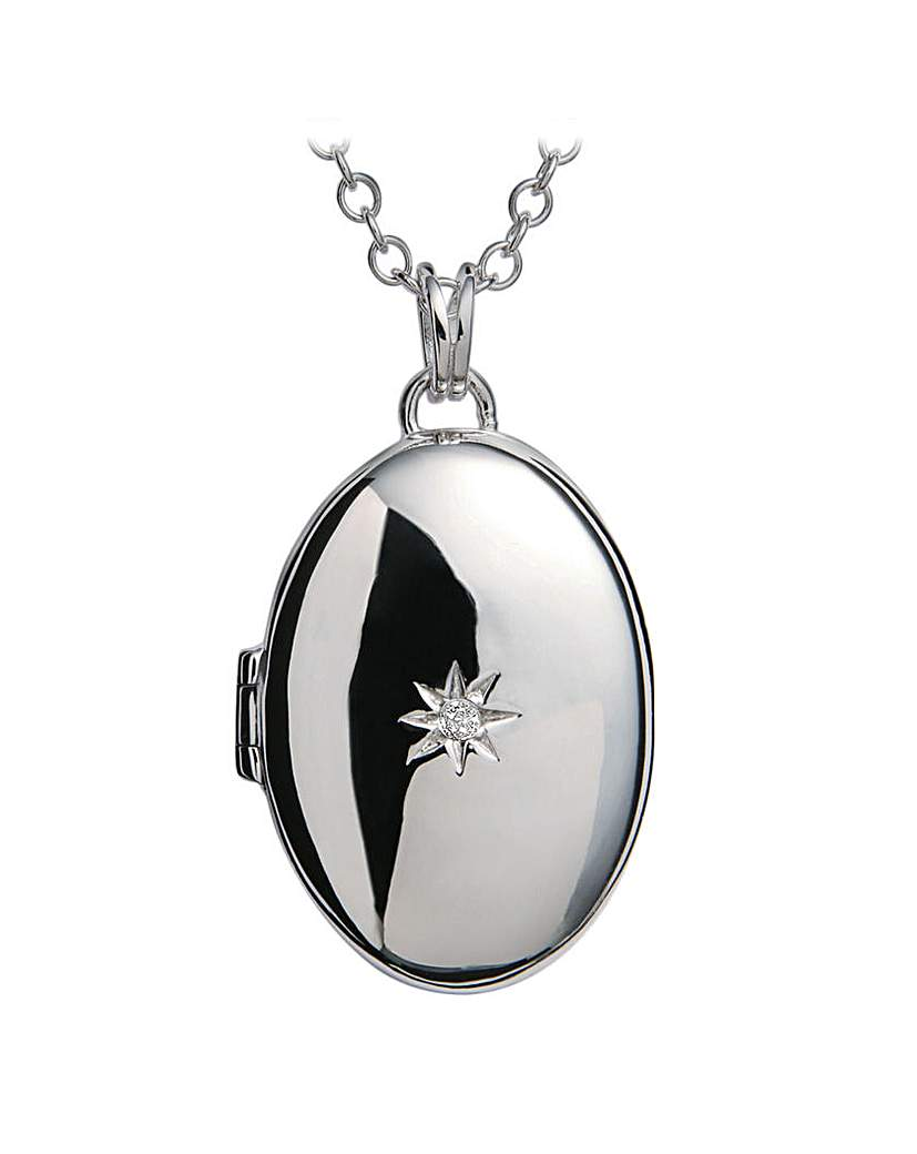 Image of  			   			  			   			  Hot Diamonds Locket Pendant