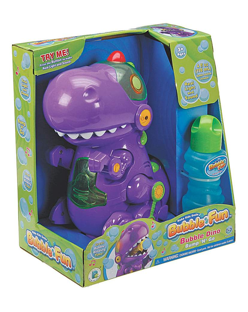Image of Battery Operated Bubble Dino