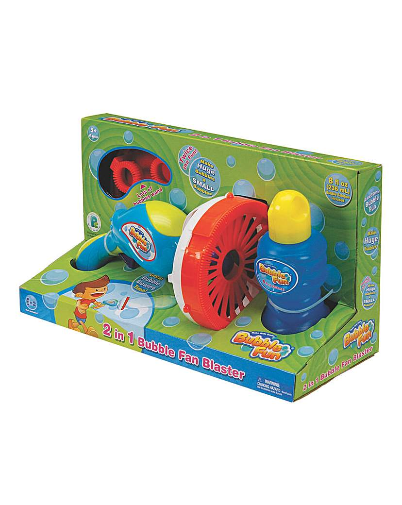 Image of Battery Operated Bubble 2in1 Fun Blaster