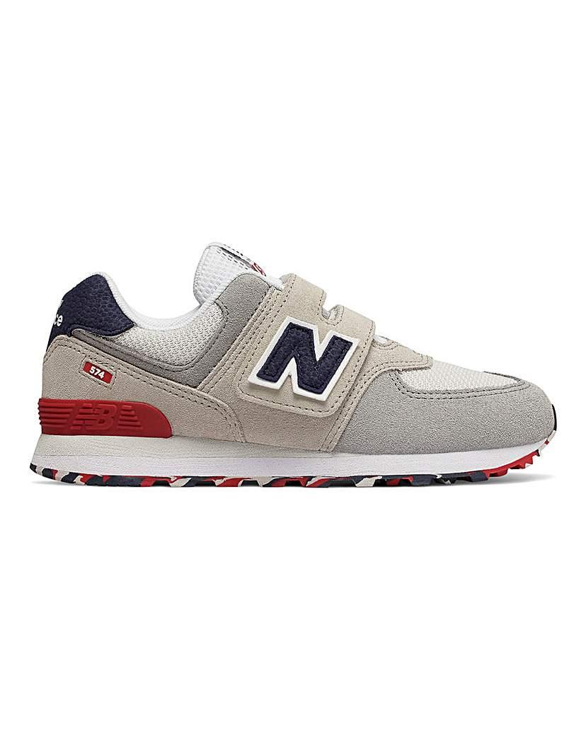 New Balance 574 Velcro Trainers